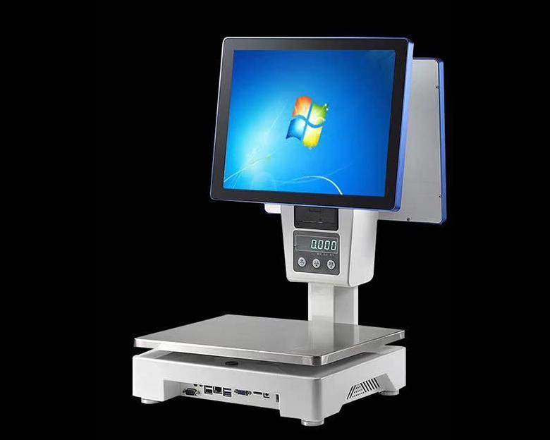 PC触摸屏称重收银一体机